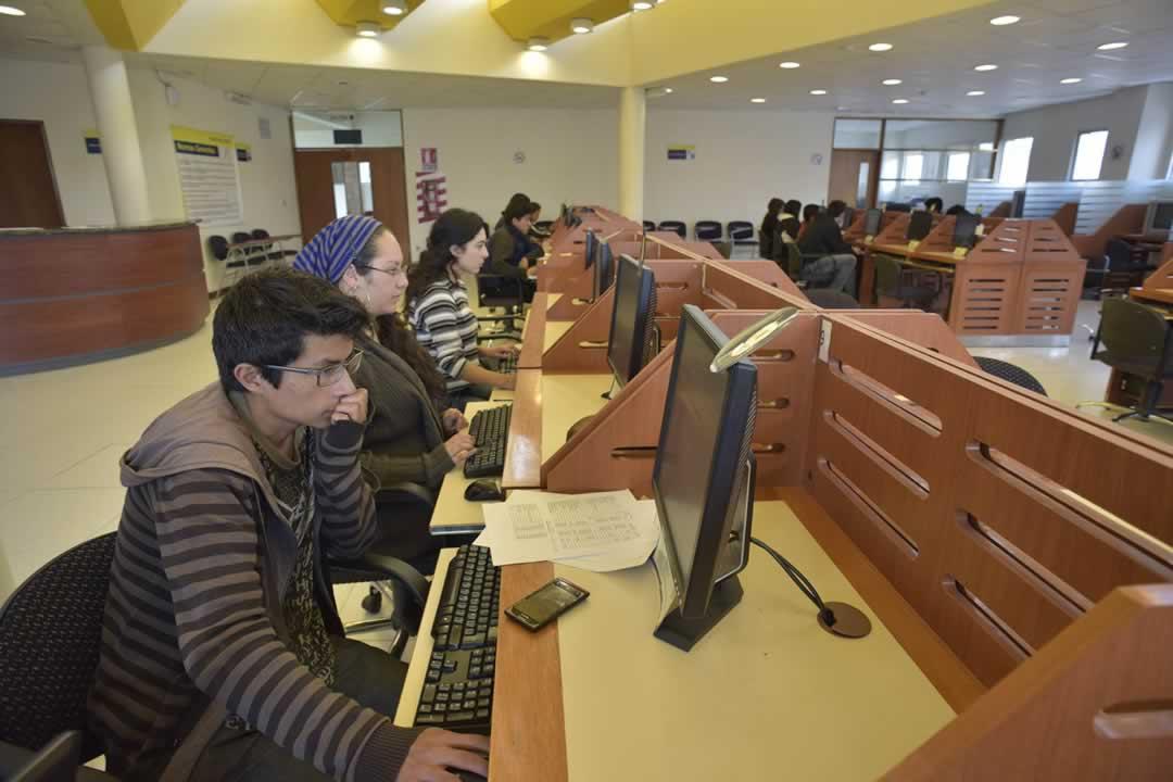 Los equipos y ambientes del 4to. piso están a disposición de los estudiantes y docentes que lo soliciten.